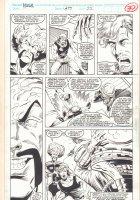 Incredible Hulk #399 p.22 - The Leader vs. Rick Jones - 1992 Signed Comic Art
