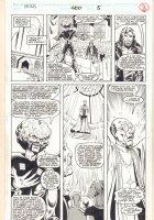 Incredible Hulk #400 p.8 - The Leader and Rick Jones - 1992 Signed Comic Art