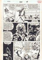 Incredible Hulk #400 p.20 - The Leader and Rick Jones - 1992 Signed Comic Art