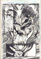 X-Men 2099 #32 p.15 - Demons Splash - 1996 Signed Comic Art