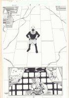 Marvel Universe: The End #1 p.31 - Akhenaten Splash and Nick Fury - 2003  Comic Art