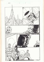 Thanos #2 p.4 - High Evolutionary and Adam Warlock (Him) - 2004  Comic Art