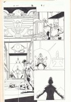 Marvel Universe: The End #2 p.15 - Egyptian Pharaoh - 2003  Comic Art