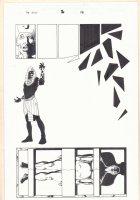 Marvel Universe: The End #2 p.18 - Akhenaten - 2003  Comic Art