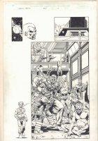Infinity Abyss #1 p.10  -Skrulls Splash - Self Portrait - 2002 Comic Art