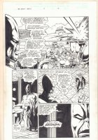 Infinity Abyss #5 p.12 - Thanos Doppelgangers with Adam Warlock - 2002 Comic Art