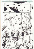 Strange Adventures #5 p.11 - Starman and Adam Strange - 2009 Comic Art