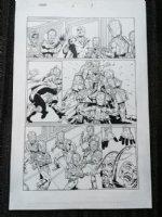 Thanos #2 p.9 - Adam Warlock (HIM) - 2004 Comic Art