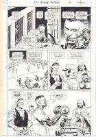 Just Imagine Stan Lee Creating the DC Universe Omnibus p.17 - Prison Scene - 2013 Comic Art