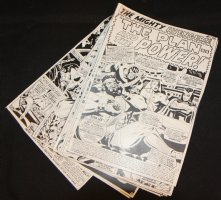 Avengers #42 Vintage Production STATS - 'The Plan -- and the Power!' Complete 20 Page Story - 1967 Comic Art