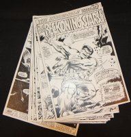 Tales to Astonish #94 Vintage Production STATS - Hulk in '..To the Beckoning Stars!' Complete 10 Page Story - 1967 Comic Art