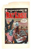 Bat Lash #6 Cover Proof - 1969 Comic Art
