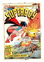 Superboy #167 Cover Proof - 1970 Comic Art