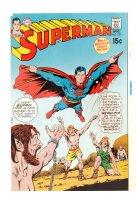 Superman #229 Cover Proof - 1970 Comic Art
