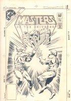 Masters of the Universe #3 Cover STAT (Not Artwork) of George Tuska and Klaus Janson - He-Man vs. Skeletor - 1983 Comic Art