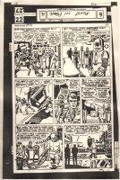 Monsters on the Prowl #16 p.2 Printing Acetate - Foreign Publisher - Original Artists: Jack Kirby & Dick Ayers - 1972 Comic Art