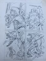 Avengers Prelim p.14 Comic Art