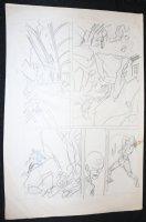 Avengers Prelim p.11 - Speed Action Comic Art