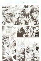 Galactus the Devourer #6 p.26 - Iron Man, Human Torch, Thor, and Others vs. Galactus - 2000 Comic Art