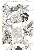 Blood of the Demon #12 p.19 - Etrigan vs. Demons - 2006 Signed Comic Art