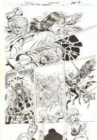 Blood of the Demon #12 p.19 - Etrigan vs. Demons - 2006 Signed Comic Art