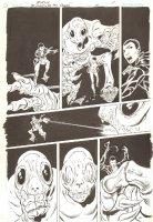 Blood of the Demon #6 p.11 - Giant Bug Monster - 2005 Signed Comic Art