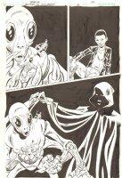 Blood of the Demon #6 p.17 - Jason Blood Surreal 1/2 Splash - 2005 Signed Comic Art