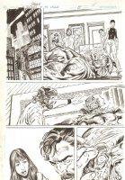Blood of the Demon #8 p.11 - Etrigan on the Floor - 2005 Signed Comic Art