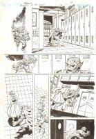 Blood of the Demon #8 p.9 - Etrigan in School - 2005 Signed Comic Art
