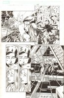 Spider-Man 2: The Movie #1 p.45 - Spidey Rescues MJ in Big Web - 2004 Signed Comic Art