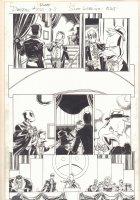 Deadpool #45 (250) p.5 - Deadpool, Howard the Duck, Hulk, Spider-Man, Thor, and Nick Fury at Roast - 2015 Signed Comic Art