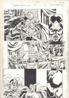 Deadpool's Art of War #1 p.12 - Deadpool and Loki - 2014 Signed Comic Art