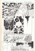 Deadpool's Art of War #3 p.3 - Odin vs. Hela - 2014 Signed Comic Art
