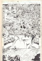 Deadpool's Art of War #3 p.14 - Hulk vs. Loki's Horde - 2014 Comic Art