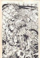 Heroes for Hire #6 p.12 - Doctor Doom Splash - Signed Comic Art