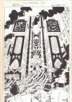 Marvel Avengers Jollibee Custom Promotional Comic #1 p.2 - Mole Man Splash - Signed  Comic Art