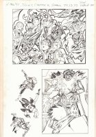 X-Men '92 #2 Screens 73, 53, & 75 - Lots of Characters - 2015 Comic Art