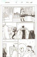 Avengers #9 p.23 - Madame Masque and the Hood - 2011 Comic Art