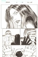 Avengers #9 p.24 - Madame Masque and the Hood - 2011 Comic Art