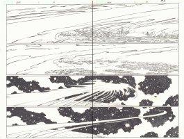 Avengers vs. X-Men #1 pgs. 4 & 5 - Dark Phoenix Force DPS - 2012  Comic Art