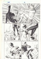 Avengers vs. X-Men #1 p.16 - Cyclops Sparring with Hope Summers - 2012  Comic Art