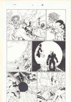 Avengers vs. X-Men #2 p.18 - Wolverine and Spider-Man in Sewer - Cyclops in Battle - 2012  Comic Art