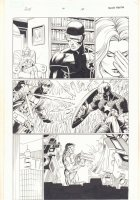 Avengers vs. X-Men #4 p.14 - Emma Frost with Cyclops - Gambit vs. Captain America - Tony Stark - 2012  Comic Art