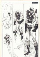 Eternals #6 p.16 - Yellowjacket (Hank Pym) - 2007  Comic Art