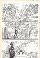 Captain America #4 p.18 - Arnim Zola and Jet Black - 2013 Comic Art