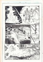 Thor #16 p.18 - Thor vs. Enrakt - 1999 Comic Art