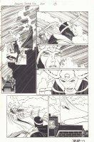 Amazing Spider-Man #504 p.5 - Spidey, Loki, and Asgardian Babe - 2004 Signed Comic Art