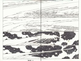 Avengers vs. X-Men #1 pgs. 4 & 5 - Dark Phoenix Force DPS - 2012 Signed Comic Art