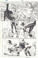 Avengers vs. X-Men #1 p.16 - Cyclops Sparring with Hope Summers - 2012 Signed Comic Art