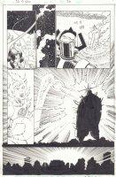 The Last Fantastic Four Story #1 p.36 - Galactus - Human Torch vs. the Adjudicator - 2007 Signed Comic Art
